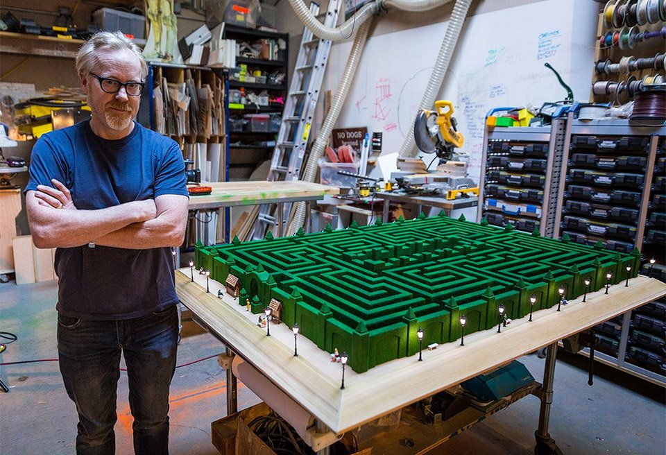 Adam Savage's Overlook Hotel Maze