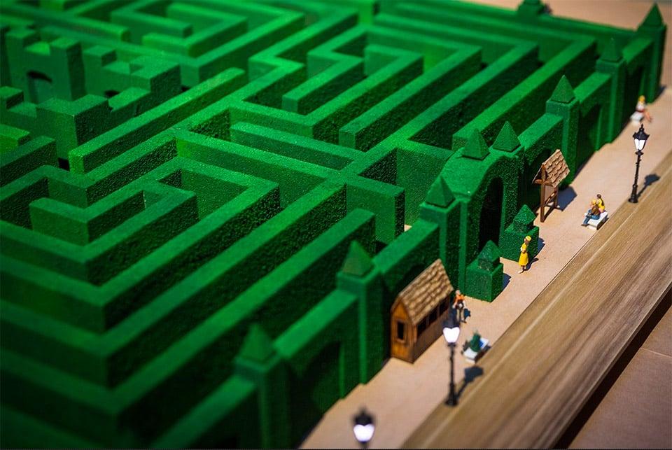 Adam Savage's Overlook Hotel Maze