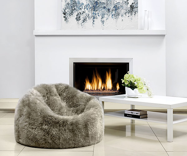 Parker Wool Sheepskin Bean Bags