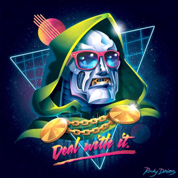 80s Villain Vinyl Covers