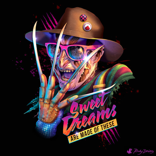 '80s Villain Vinyl Covers