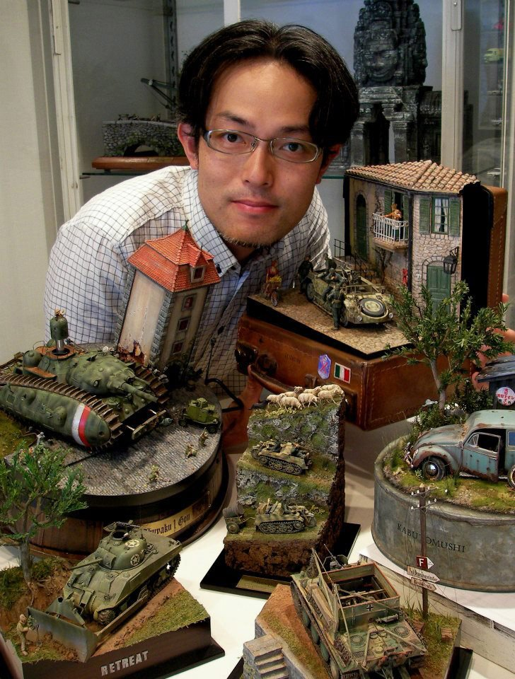 Satoshi Araki's Miniatures