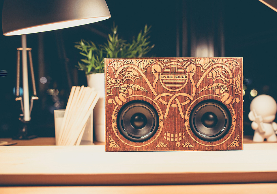 The Wooden Boombox