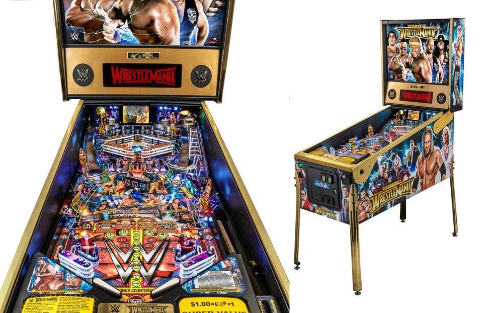WWE WrestleMania Pinball