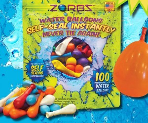 Self-sealing Water Balloons