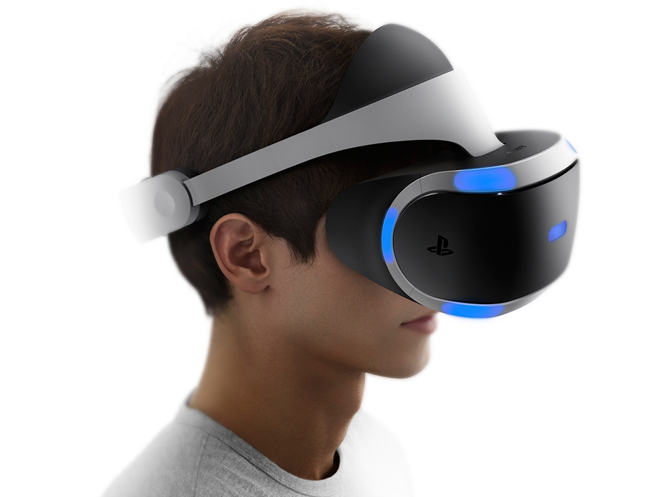 2015 Sony Project Morpheus Headset
