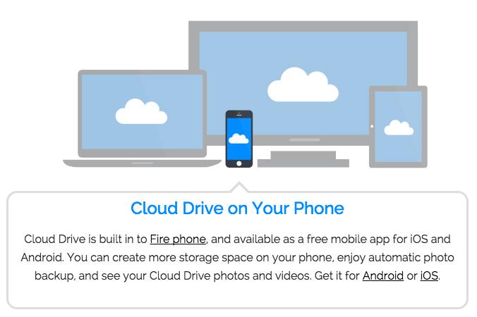 Amazon Unlimited Cloud Storage