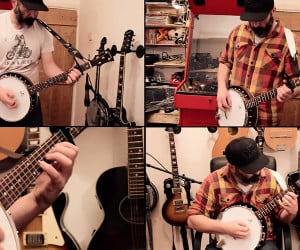 Enter Sandman on Banjo