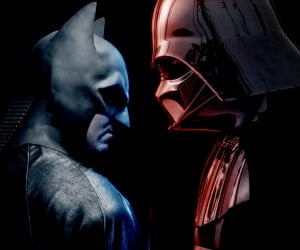 Batman vs. Darth Vader (Alternate)