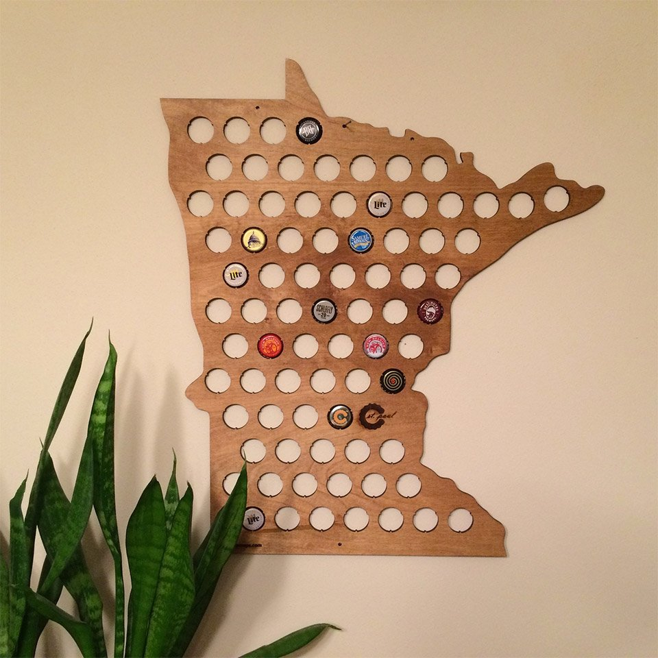 Beer Cap Maps