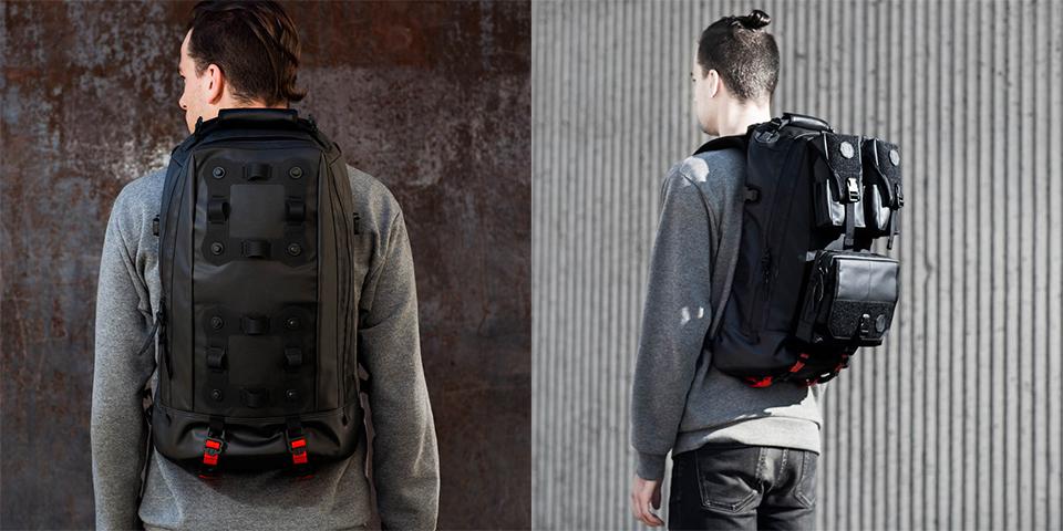 Black Ember Bags