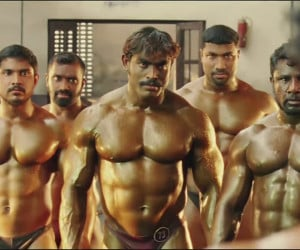 Bollywood Bodybuilder Fight