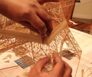 Building a Bamboo Eiffel Tower