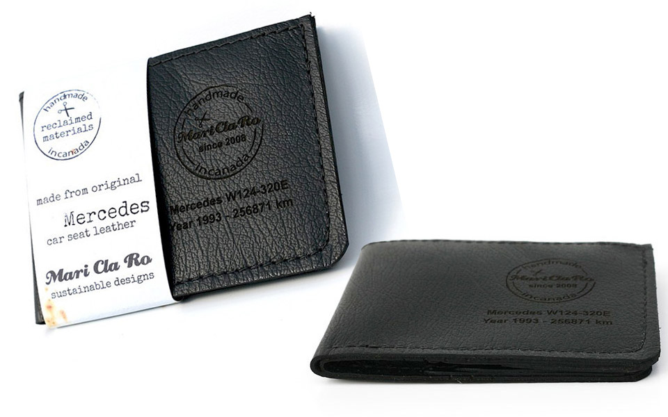 Recycled Car Leather Wallets