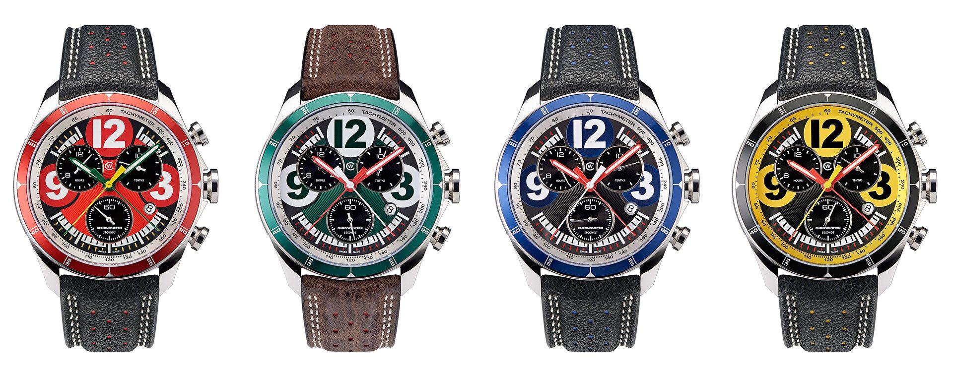 Christopher Ward Motorsport Watches