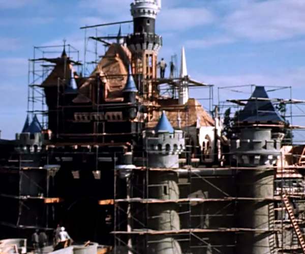 Disneyland Construction Time-Lapse