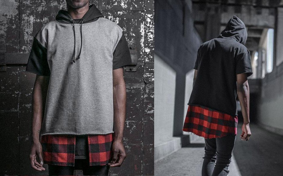 DOPE Layered Flannel Pullover