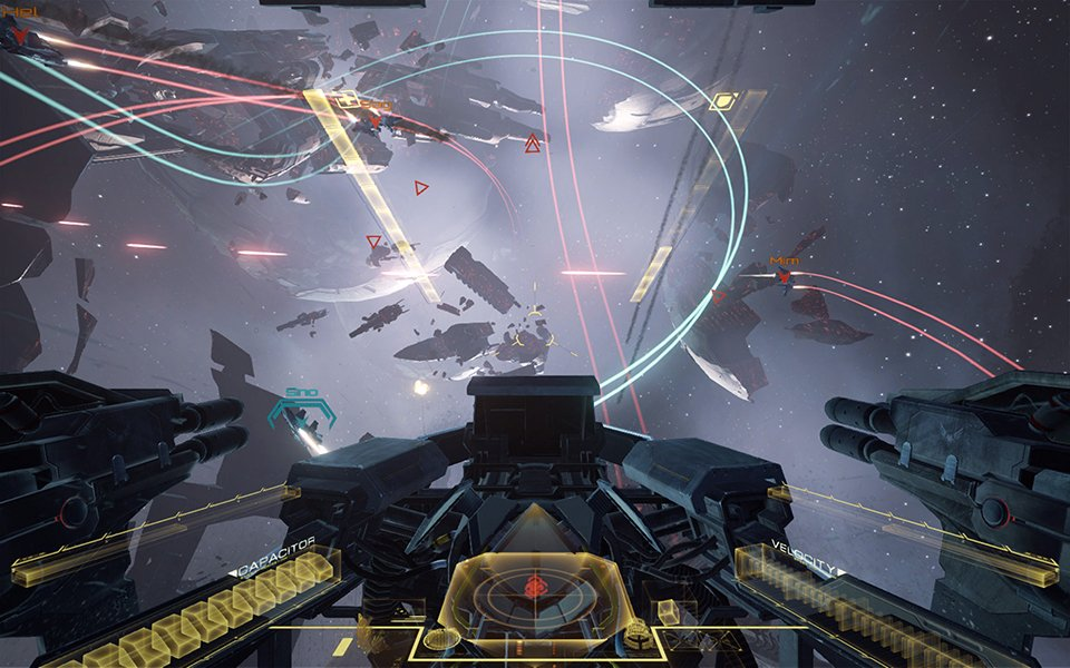 EVE: Valkyrie (Gameplay)