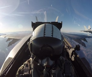 Awesome F18 Fighter Footage