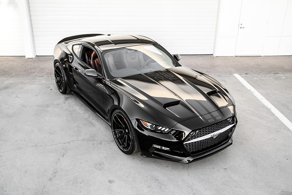 fisker galpin ford mustang rocket the awesomer. Black Bedroom Furniture Sets. Home Design Ideas