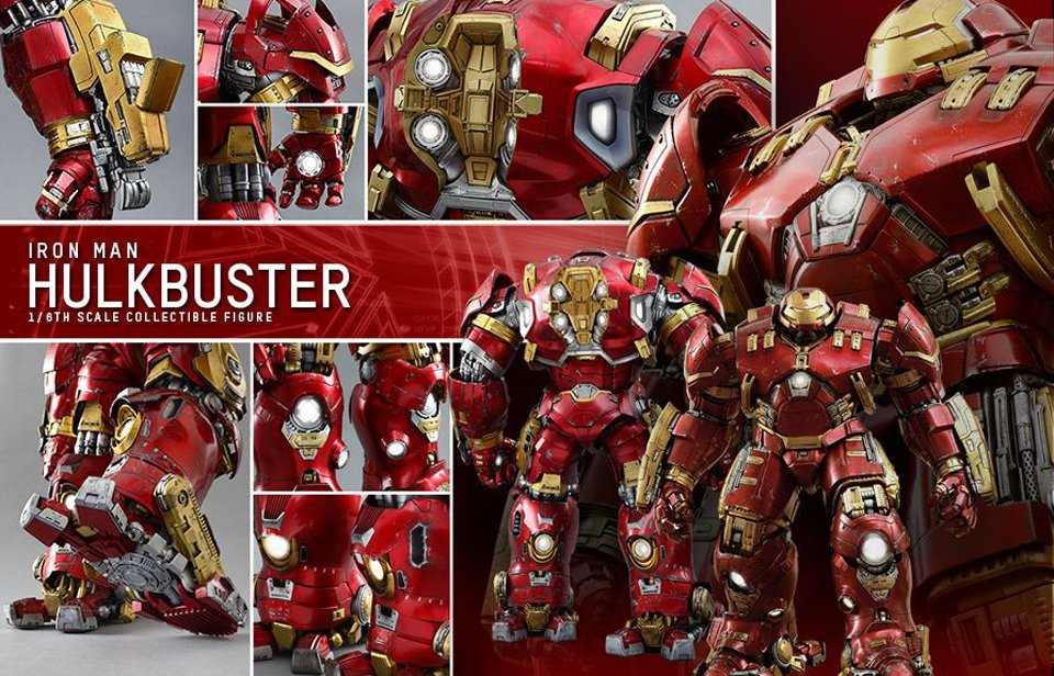 Hot Toys Iron Man Hulkbuster