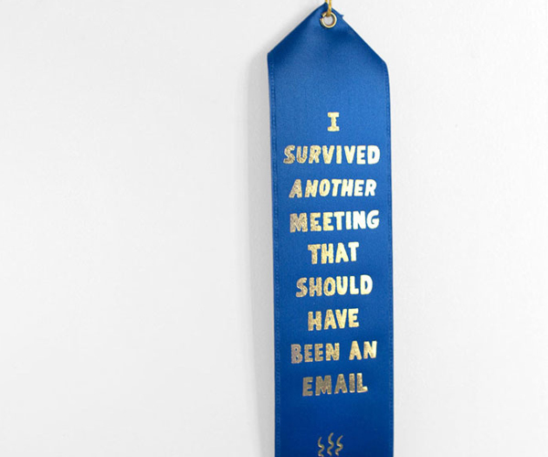 I Survived a Meeting Award