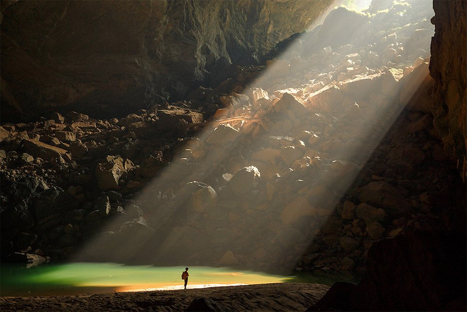 Inside Hang Son Doong