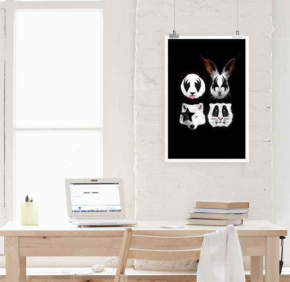 Kiss of Animals Poster