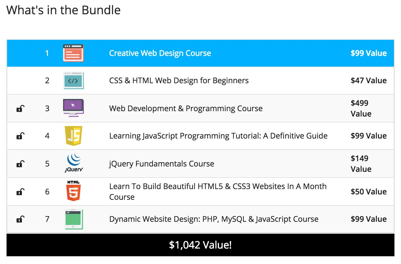 Deal: Front-End Developer Bundle