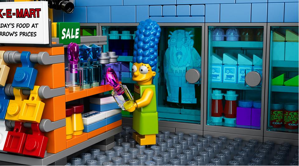 Lego Simpsons Kwik-E-Mart