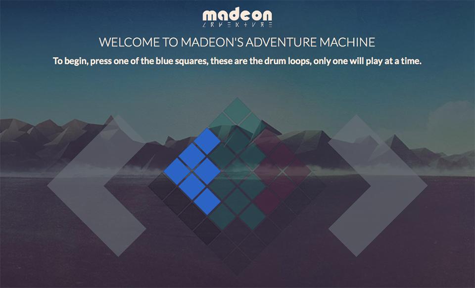 madeons adventure machine
