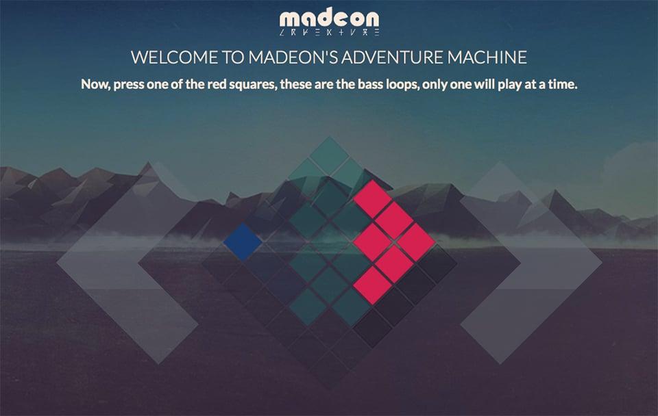 Madeon's Adventure Machine