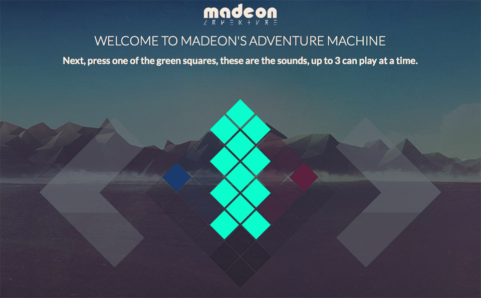 Madeon's Adventure Machine