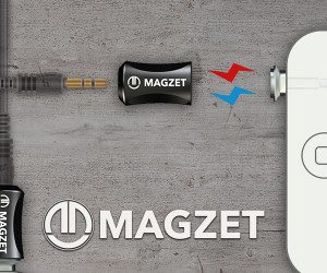 Magzet Magnetic Headphone Adapter