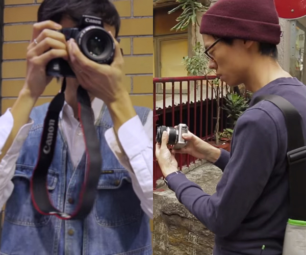 Photography in the '90s vs Now