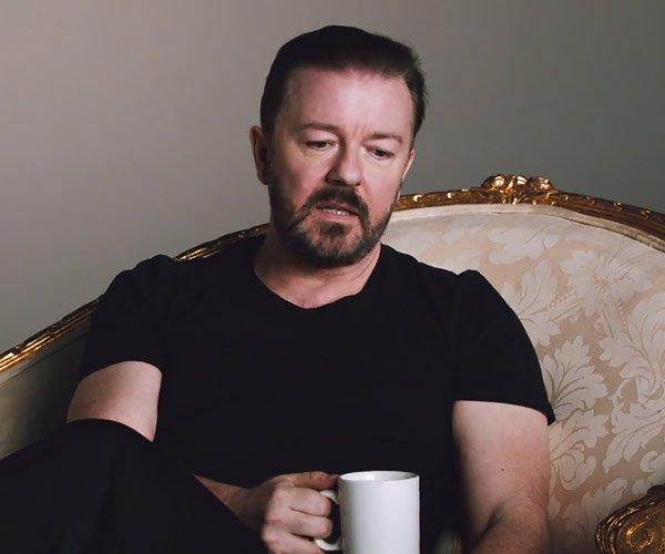 Ricky Gervais' Lame Ad