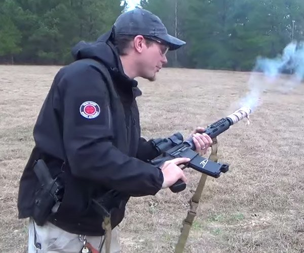 Cooking Bacon with a Rifle