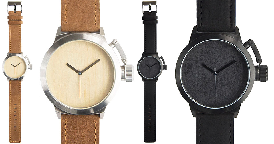 Seaval Wood Dial Watches