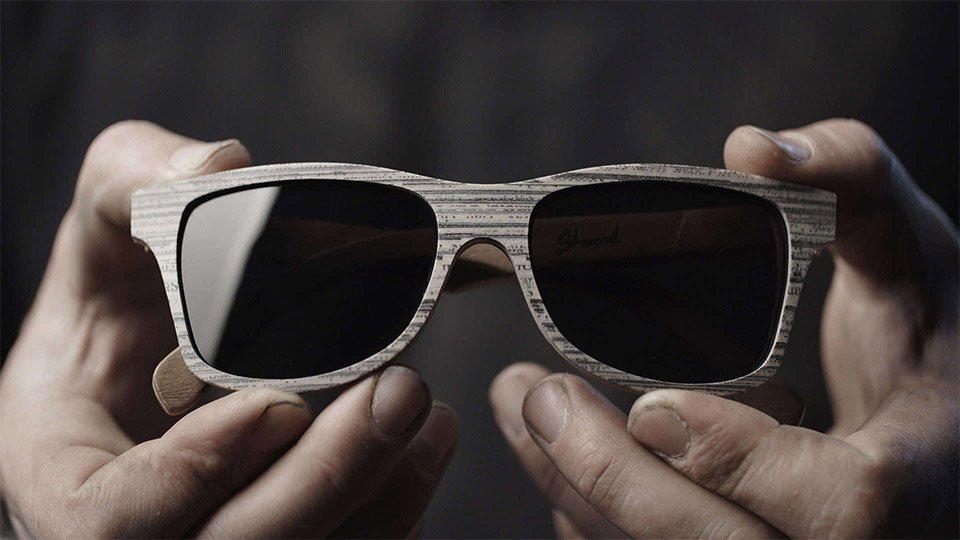 Shwood Newspaper Eyewear