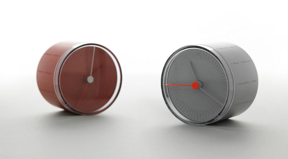 Rolling World Clock