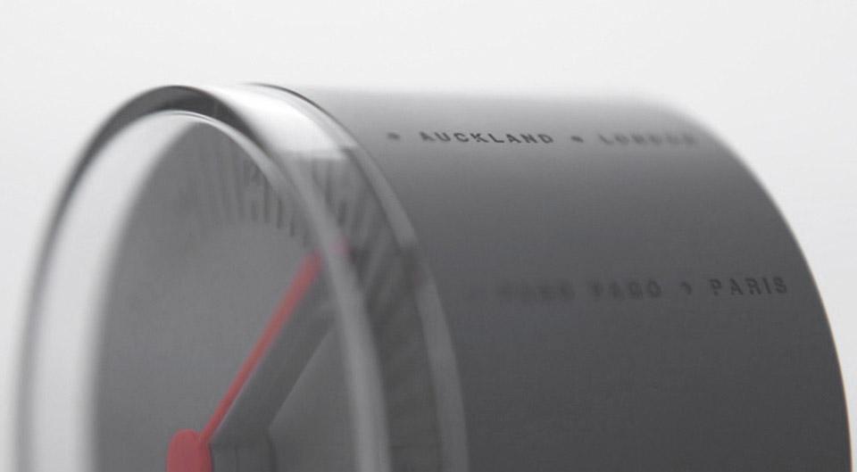 Rolling World Clock