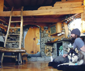 A Snowboarder's Tiny House