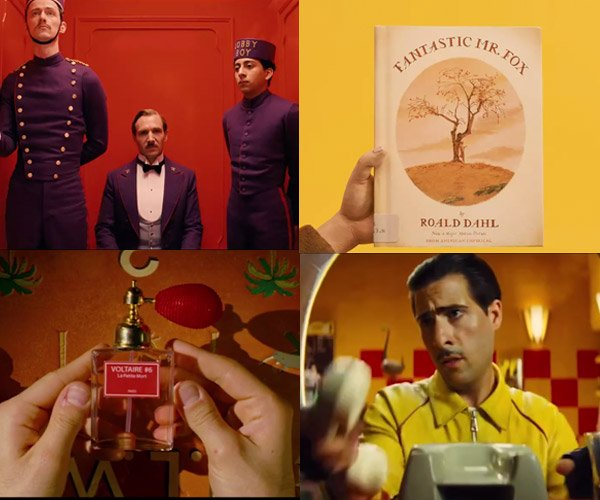 Wes Anderson: Red & Yellow