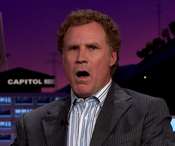Will Ferrell Sings Star Trek