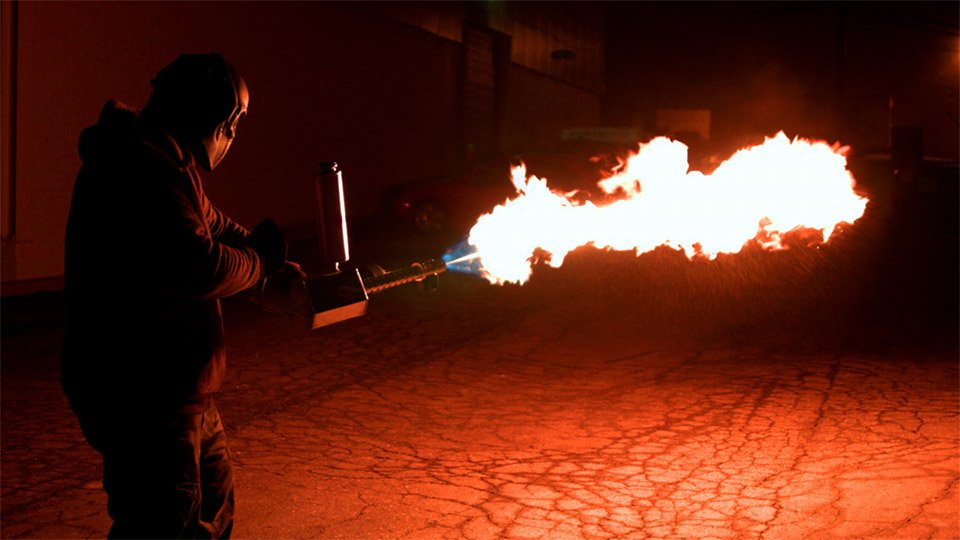 XM42 Personal Flamethrower