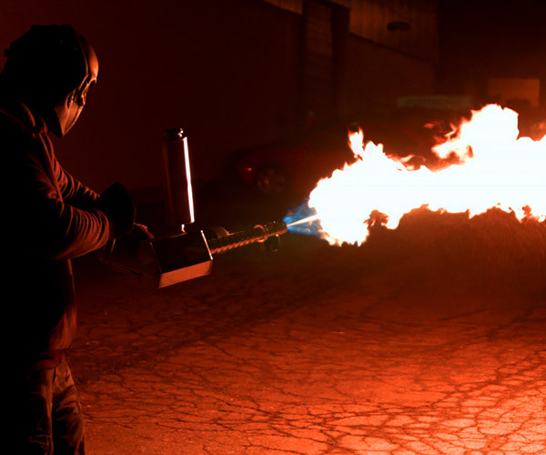 Xm42 Personal Flamethrower