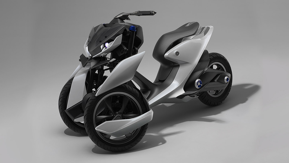 Yamaha 03Gen Scooter Concepts