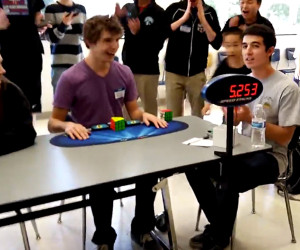 2015 Rubik's Cube World Record