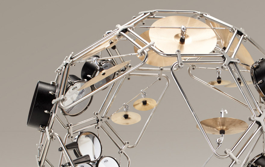 Yamaha 360° Drum Kit