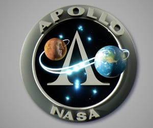 Apollo Mission Patches Animated
